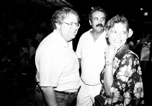 Aramis Millarch, Afunfa e Adélia Lopes - Carnaval na Marechal Deodoro - Anos 80